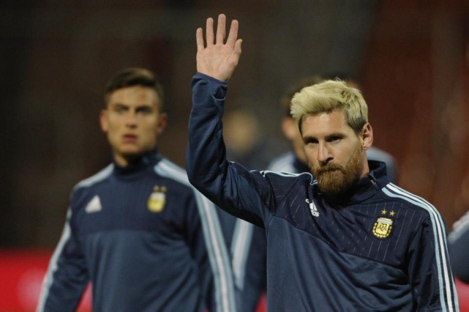 El capitán albiceleste tuvo que dejar la concentración (Foto: AFP)