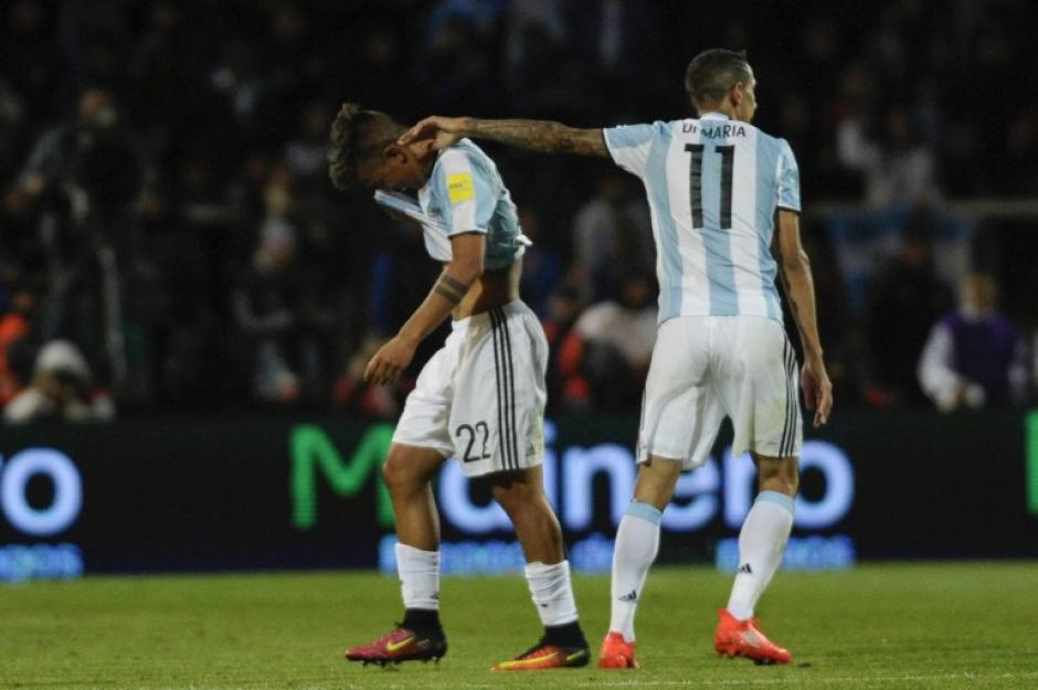 El joven argentino se fue expulsado en su debut. (Foto: AFP)