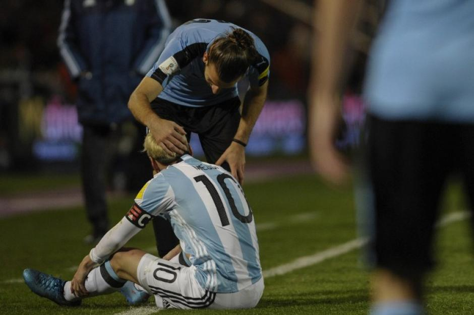 Volverá a Barcelona el sábado para que le hagan más pruebas. (Foto: AFP)