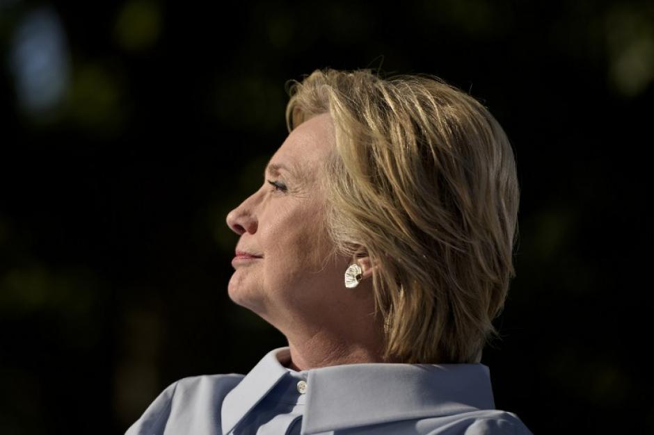 """Clinton también dijo que Trump había creado un """"incidente diplomático"""". (Foto: AFP)"""