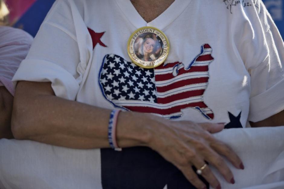 La candidata dice que se va a enfocar en crear puestos de trabajo. (Foto: AFP)