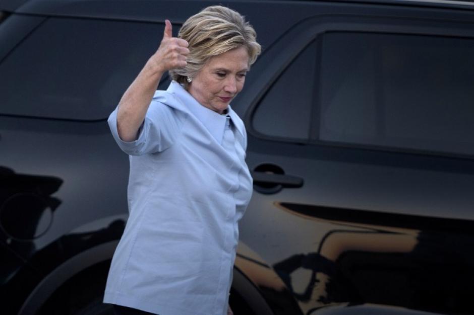 Hillary Clinton le dice que no a Enrique Peña Nieto. (Foto: AFP)