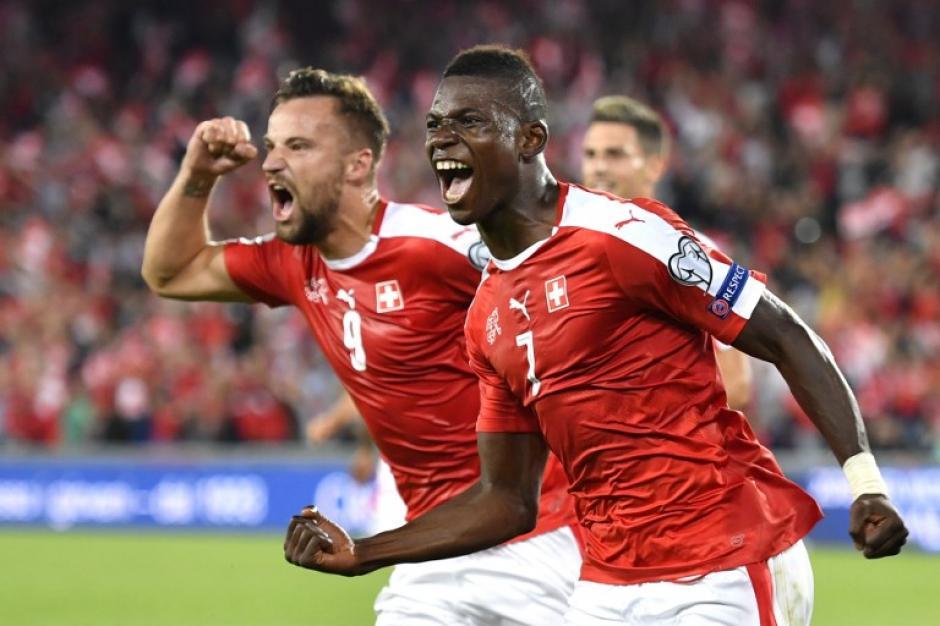 Suiza venció al gran favorito del grupo, Portugal. (Foto: AFP)