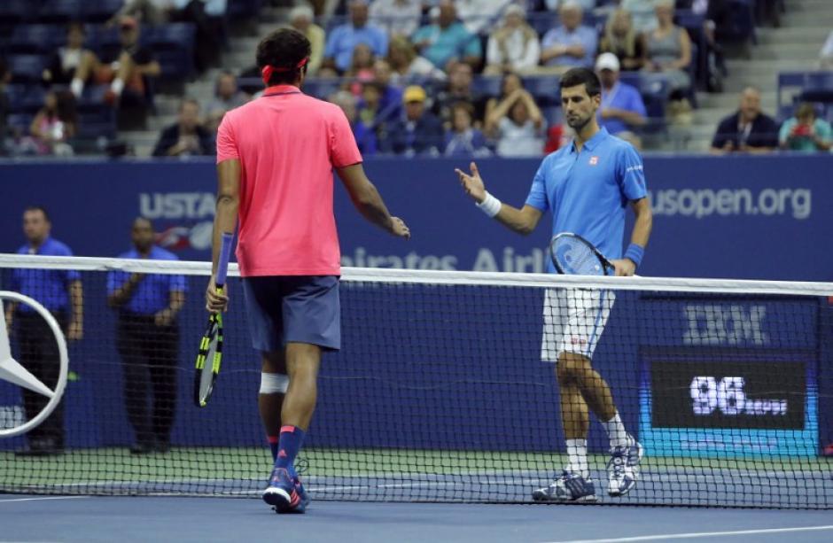 En cuartos de final pasó porque Jo Wilfried Tsonga se lesionó. (Foto: AFP)