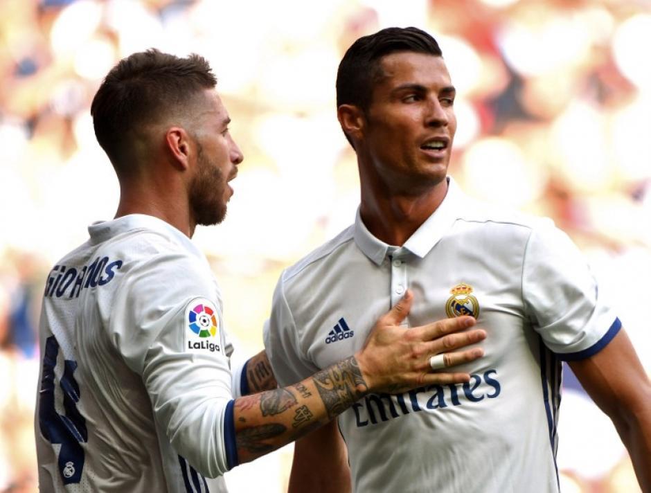 El portugués metió un gol en su regreso a la cancha. (Foto: AFP)