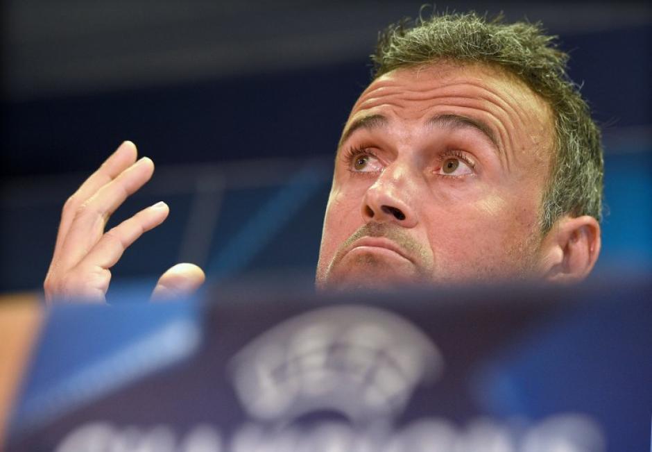 Luis Enrique se negó a comentar sobre CR7. (Foto: AFP)