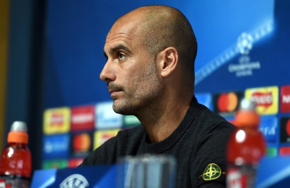 Pep Guardiola se las verá con el Barça el 19 de octubre y el 1 de noviembre. (Foto: AFP)