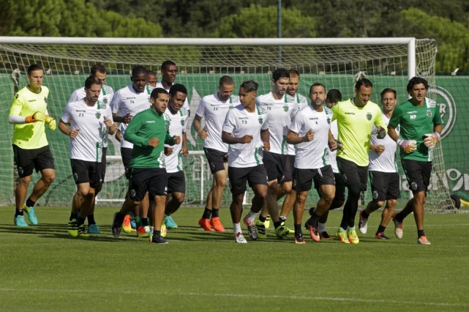 El Sporting de Portugal quiere dar la sorpresa en el Bernabéu. (Foto: AFP)