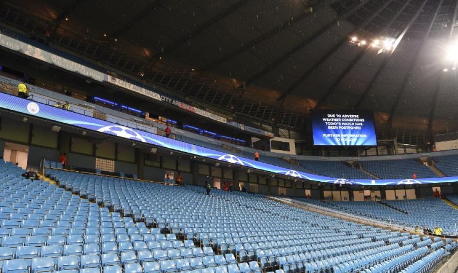 La grada del Etihad Stadium. (Foto: AFP)