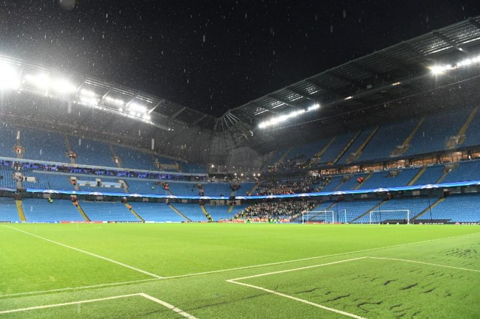 Vista interna del Etihad Stadium, casa del Manchester City. (Foto: AFP)