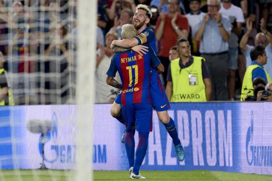 El técnico del Manchester City tuvo un sueño imposible: Ney y Leo. (Foto: AFP)