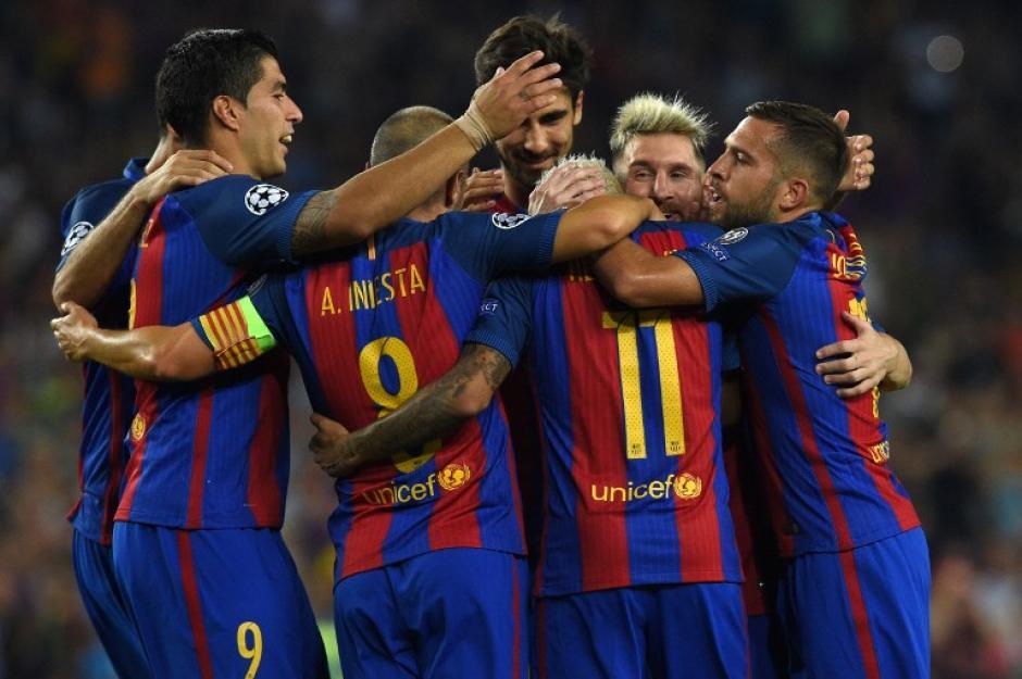 El Barcelona venció sin problemas al Celtic. (Foto: AFP)