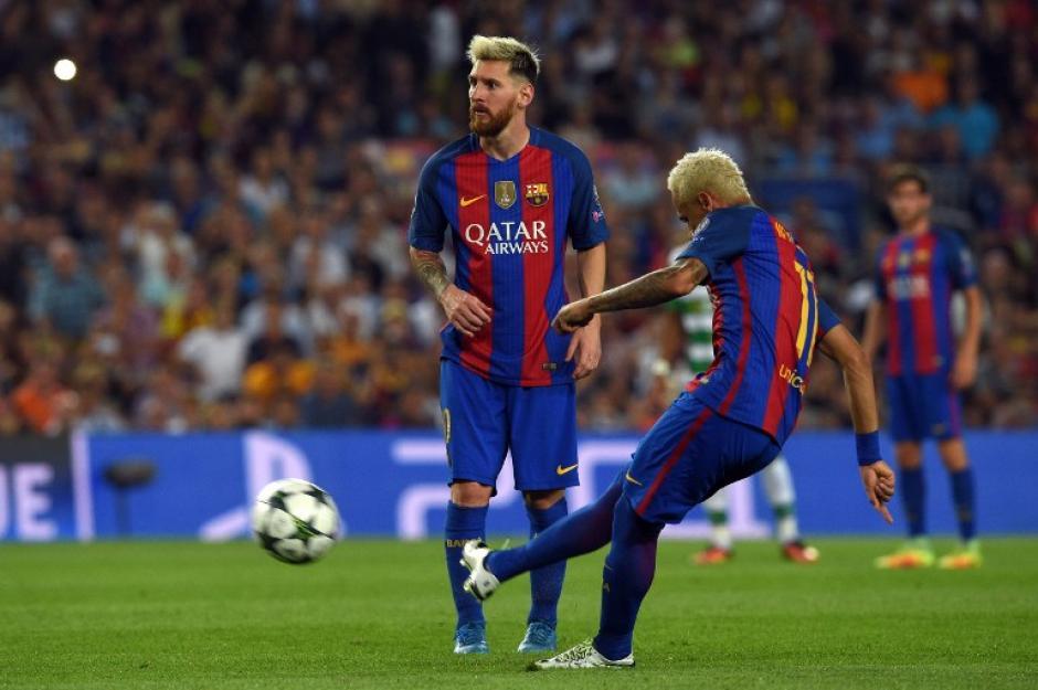 La pareja letal del Barça no se moverá...por ahora. (Foto: AFP)