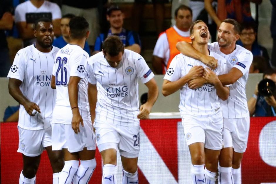 El Leicester City jugó por primera vez en la Champions League. (Foto: AFP)