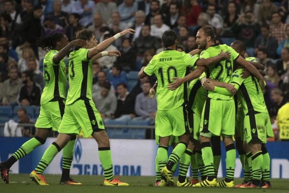 El Sporting jugó un partidazo pero se despistó en la última parte (Foto: AFP)