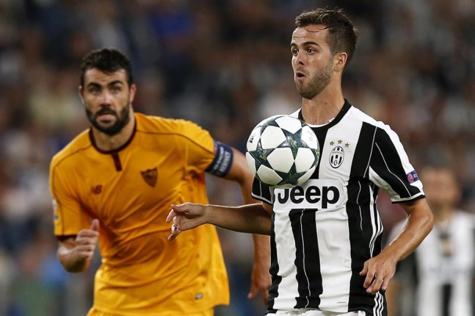 Juventus y Sevilla empataron sin goles en Turín. (Foto: AFP)
