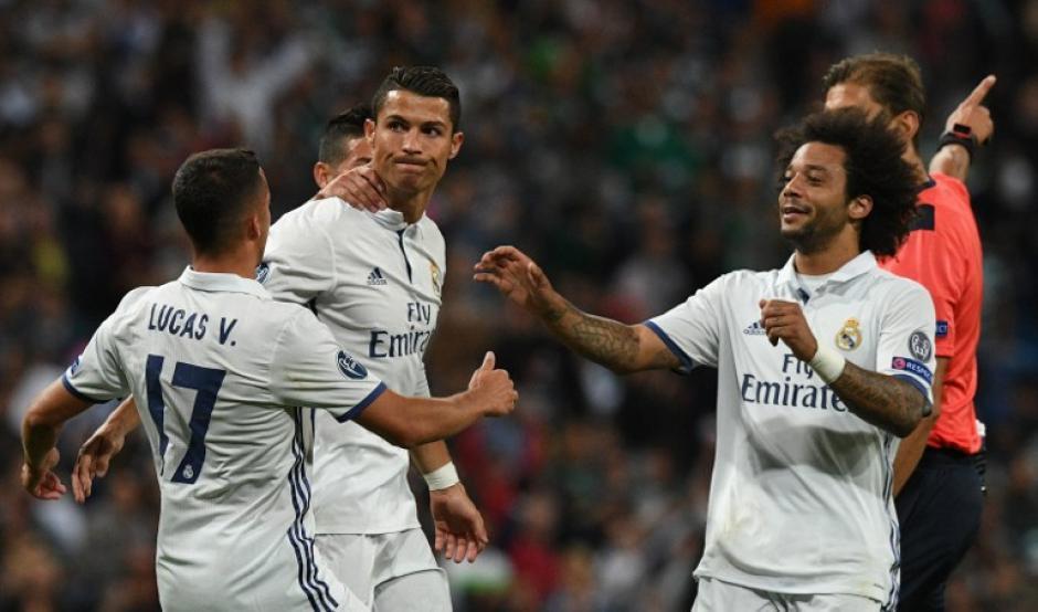 CR7 no celebró ninguno de los dos goles de su equipo (Foto: AFP)