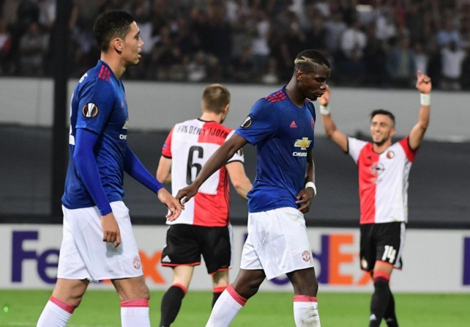 Pogba está recibiendo muchas críticas por su rendimiento. (Foto: AFP)