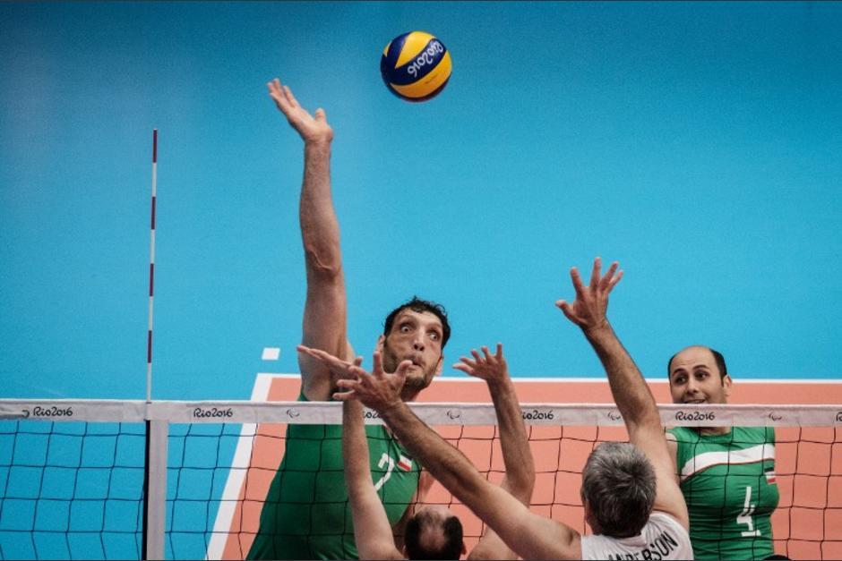 Morteza Mehrzadselakjani ha deslumbrado con su fortaleza en los Paralímpicos de Río 2016. (Foto: AFP)