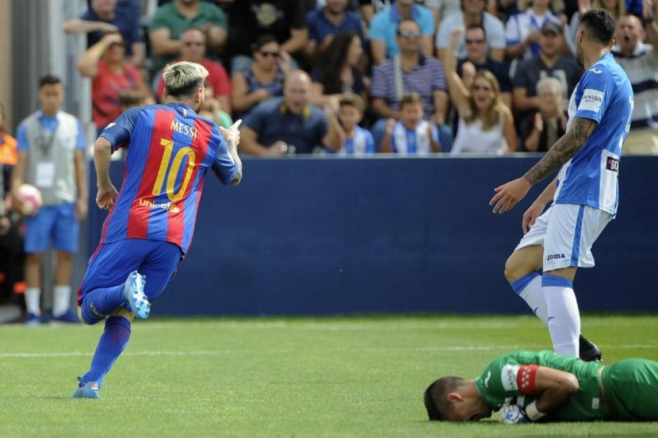 """El argentino hizo doblete y es uno de los """"Pichichis"""" de la Liga española. (Foto: AFP)"""