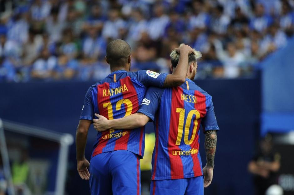 El último choque terminó 2-1 para los de Luis Enrique (Foto: AFP)
