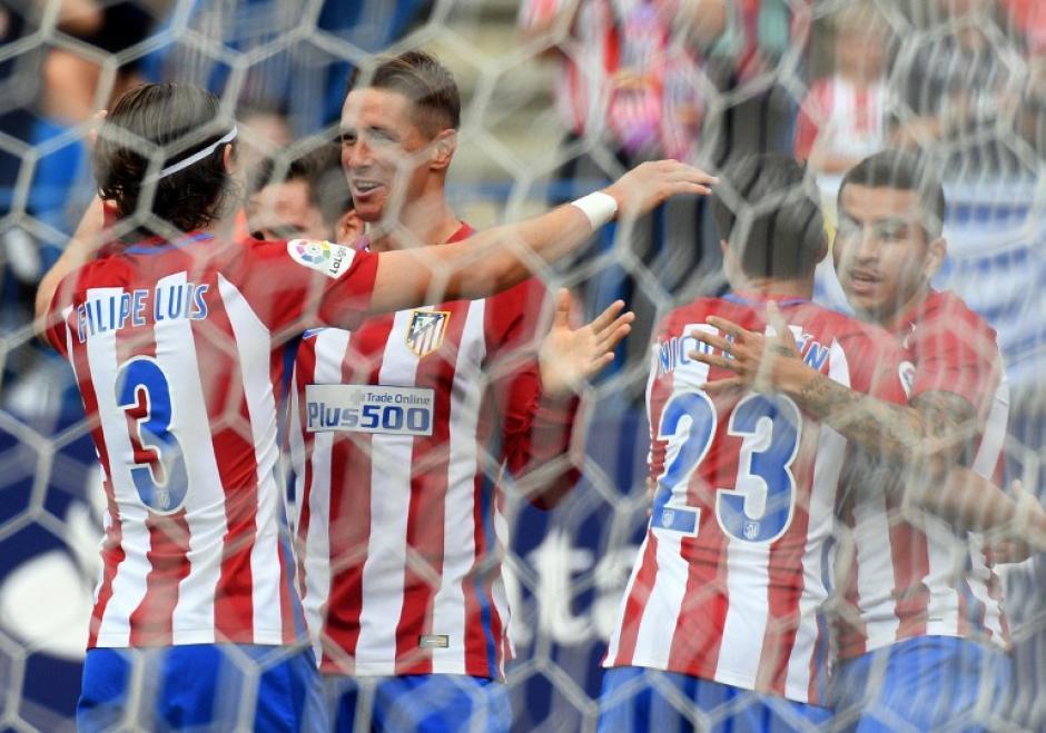 El Atlético empezó mal, pero en Barcelona siempre se crece (Foto: AFP)