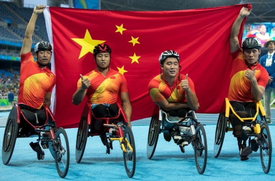 China se impuso en el medallero general de los Juegos Paralímpicos de Río de Janeiro 2016. (Foto: AFP)