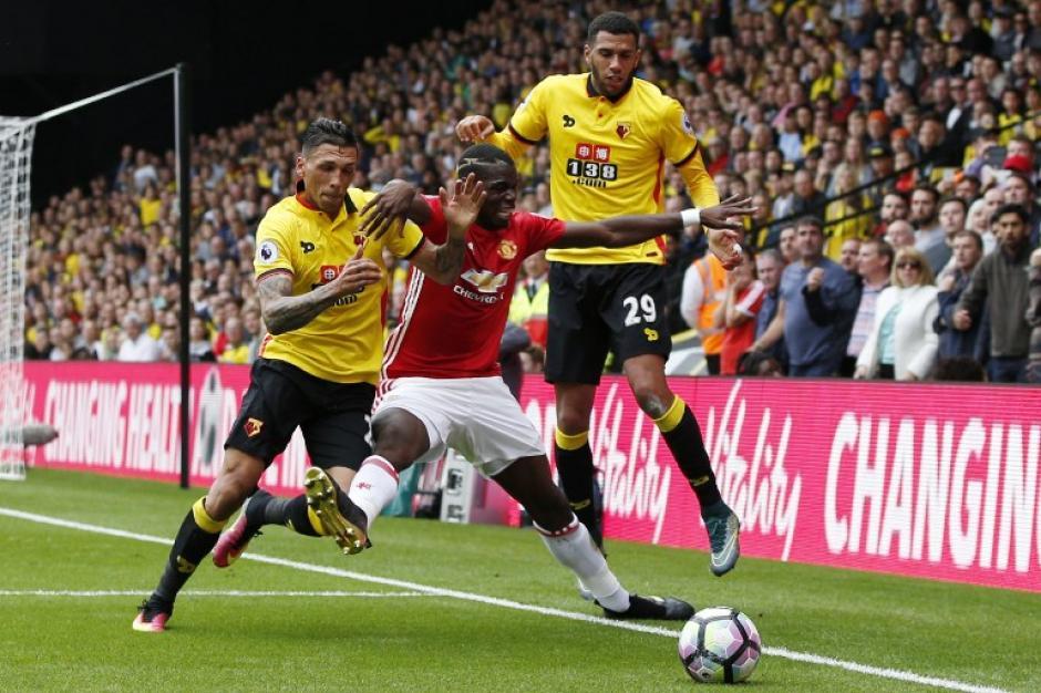 Watford tenía 30 años de no ganarle al Manchester United. (Foto: AFP)