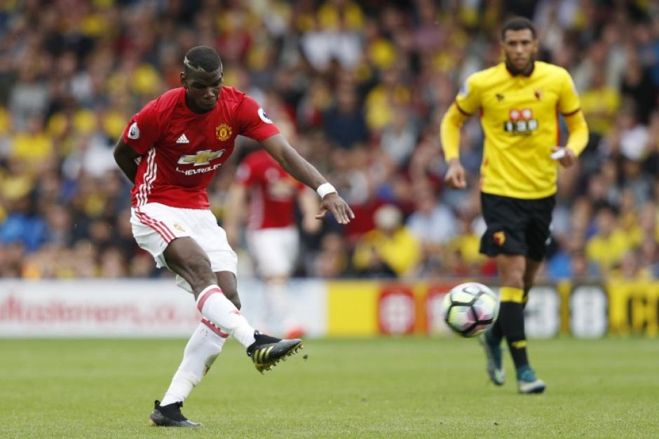 Paul Pogba sigue siendo uno de los cuestionados del United. (Foto: AFP)