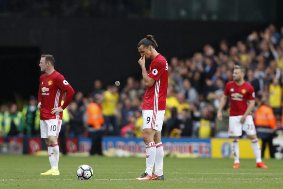Manchester United sufrió un revés en la Premier League. (Foto: AFP)