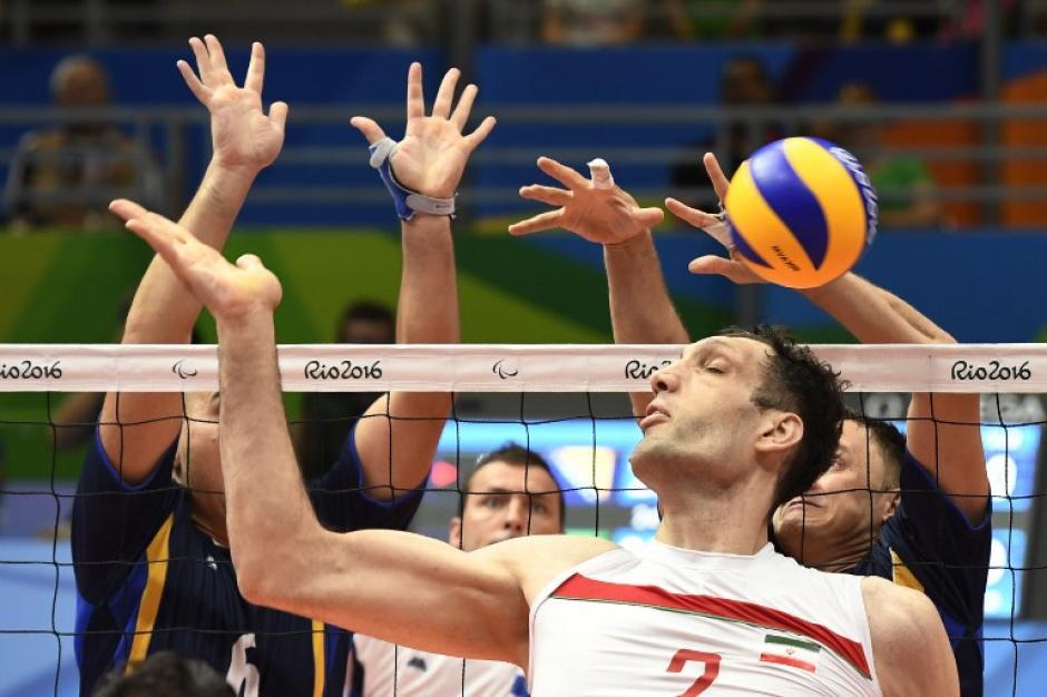 Morteza Mehrzadelakjani, de Irán, fue uno de los atletas más destacados de los Juegos. (Foto: AFP)