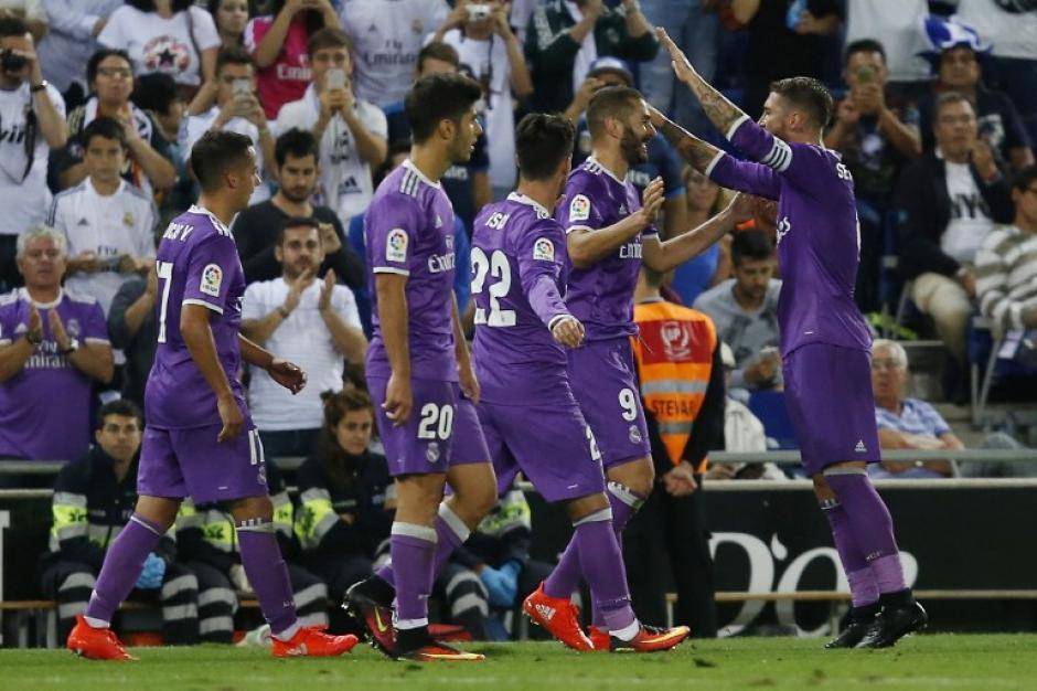 Real Madrid suma 16 triunfos seguidos ganando en la Liga de España. (Foto: AFP)