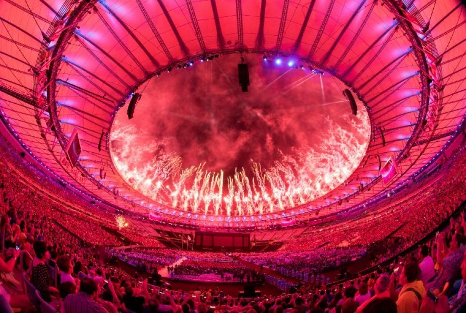 El estadio Maracaná fue el escenario de la ceremonia de clausura de los Juegos Paralímpicos. (Foto: AFP)