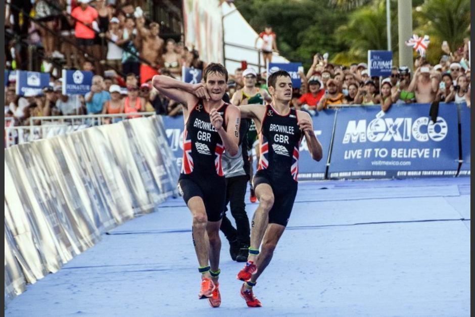 Johnathan Brownlee sufrió un golpe de calor y evitó que llegara en primer lugar en la final de Triatlón en México. (Foto: AFP)