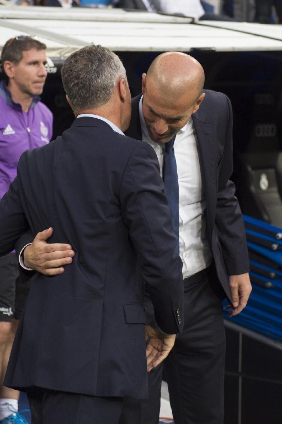 Zidane se quedó en 16 victorias consecutivas. (Foto: AFP)