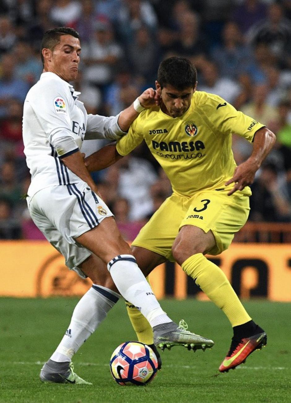 La prensa madrileña asegura que todavía teme por su rodilla (Foto: AFP)