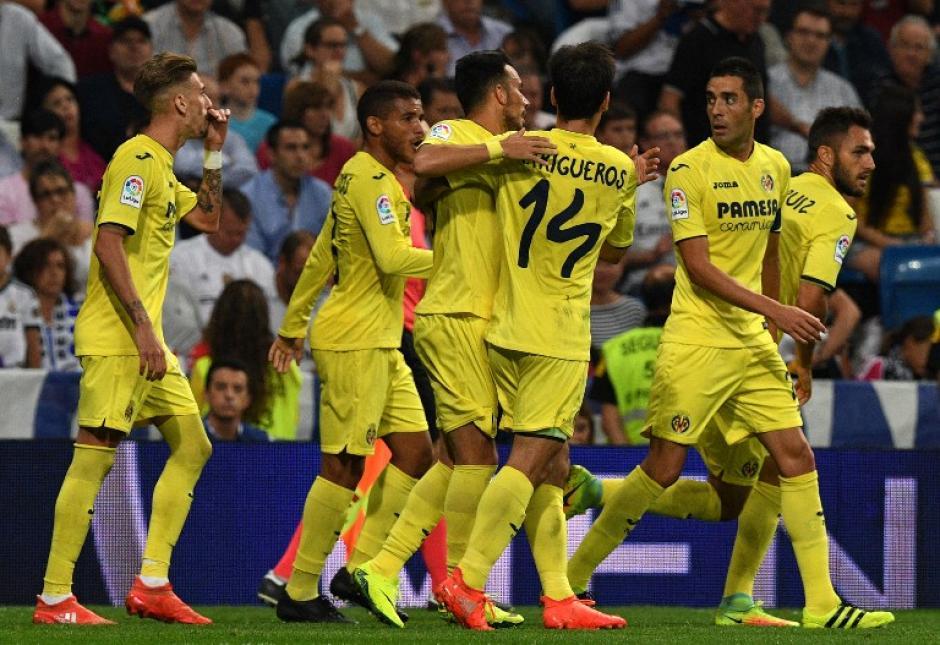 El Villarreal jugó bien y casi se lleva la victoria. (Foto: AFP)