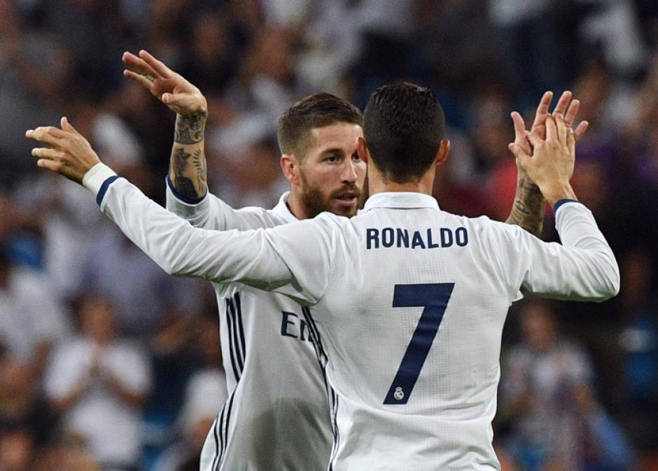 Ronaldo celebra su gol con Villarreal. (Foto: AFP)