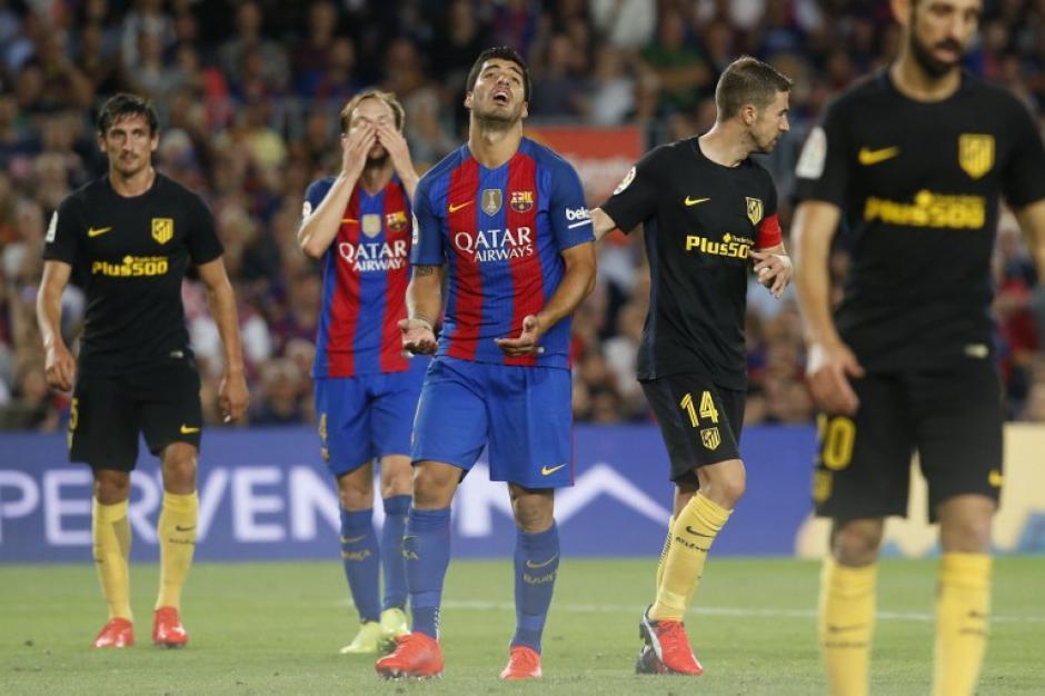 El Barcelona empató contra el Atleti y no se acercó al Madrid (Foto: AFP)