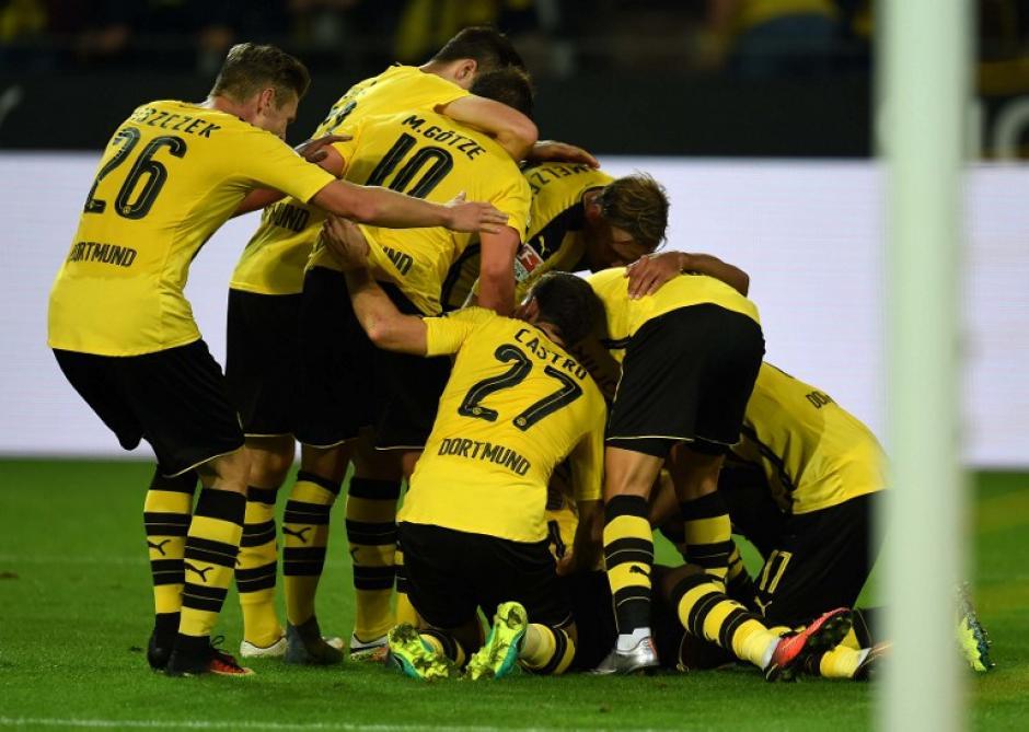 El Dortmund llega en un gran momento contra el Madrid. (Foto: AFP)