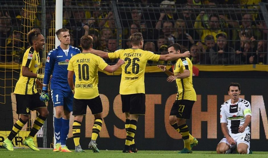 Los alemanes siempre son peligrosos en casa. (Foto: AFP)