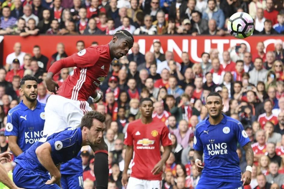 Así metió su gol: de cabeza. (Foto: AFP)