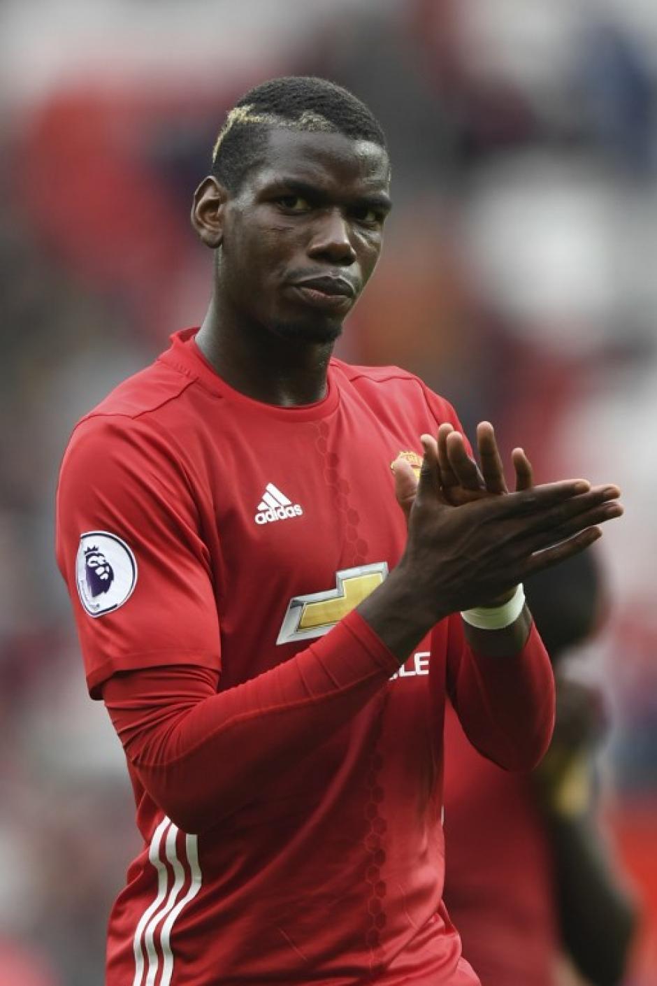 Pogba jugó un gran partido ante el Leicester City. (Foto: AFP)