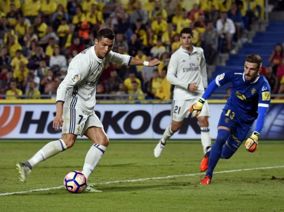 Cristiano Ronaldo no pudo marcar y fue sustituido, algo que no le gustó al portugués. (Foto: AFP)