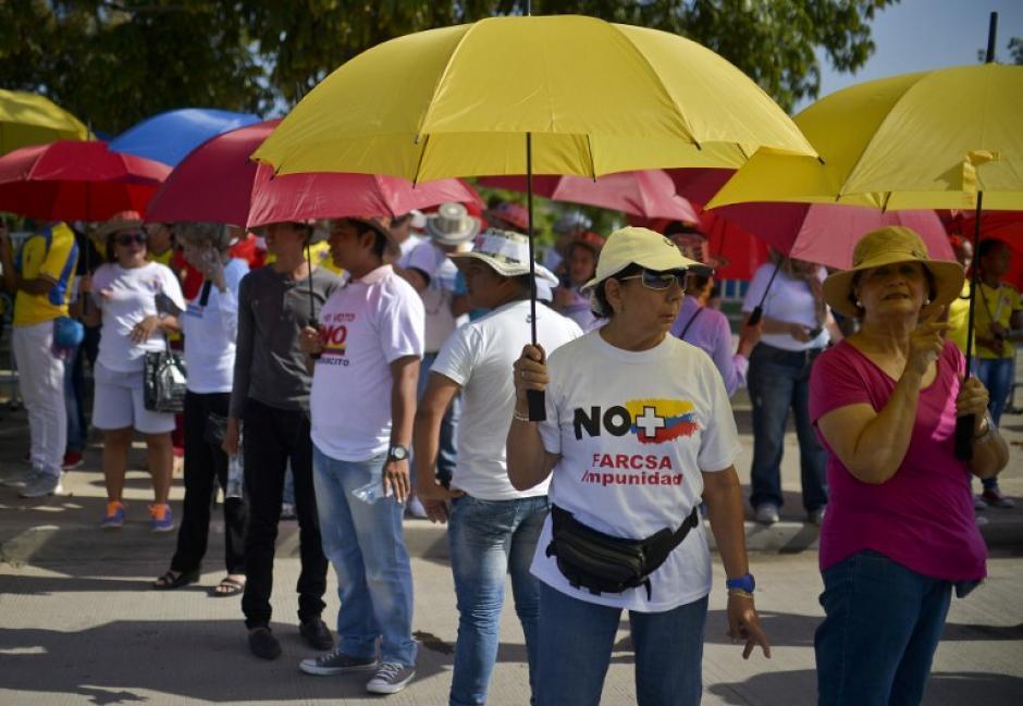 El conflicto armado en Colombia a durado 52 años. (Foto: Luis Robayo/AFP)