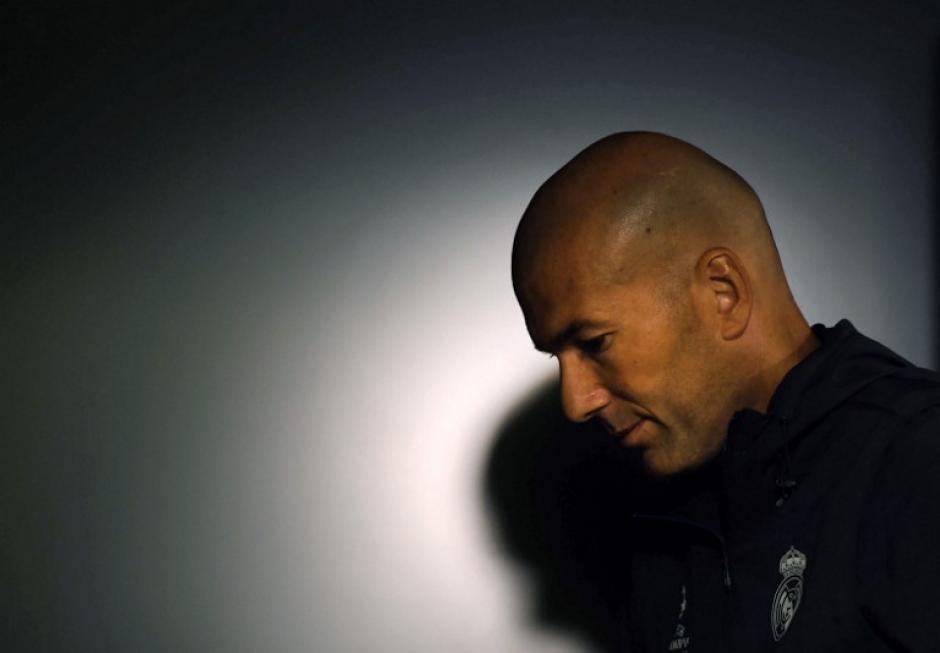 Zidane encaró el tema de Cristiano Ronaldo en conferencia de prensa. (Foto: AFP)