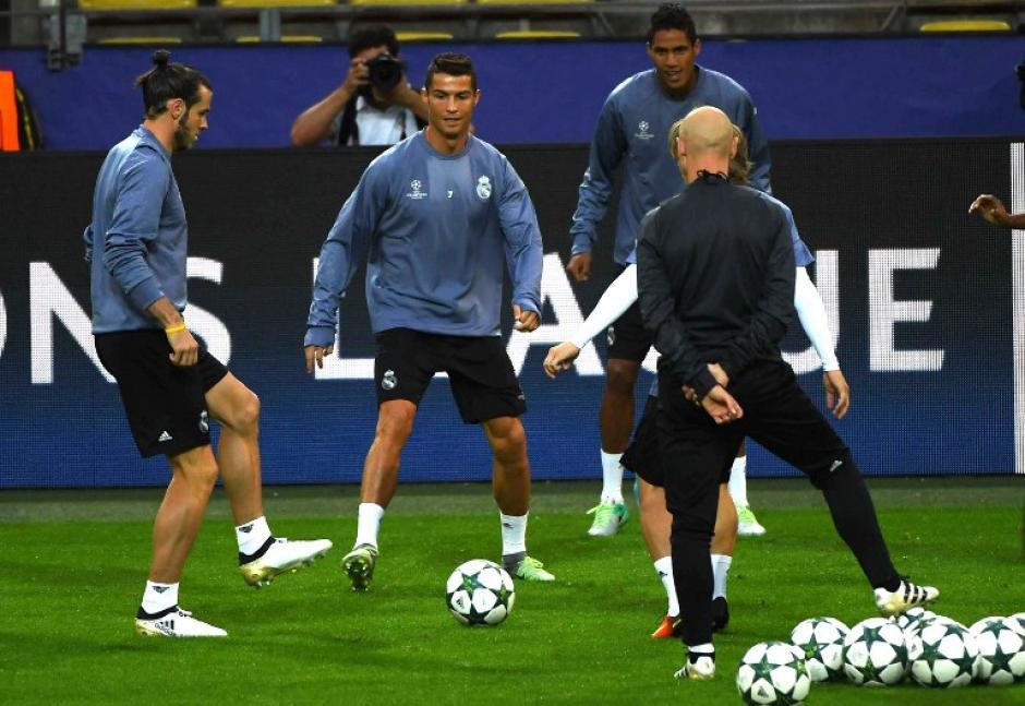 Cristiano será titular contra el Borussia Dortmund. (Foto: AFP)