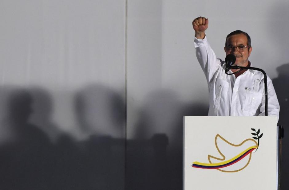 El máximo líder de la guerrilla colombiana extendió sus disculpas a las victimas de la guerra.  (Foto: AFP)
