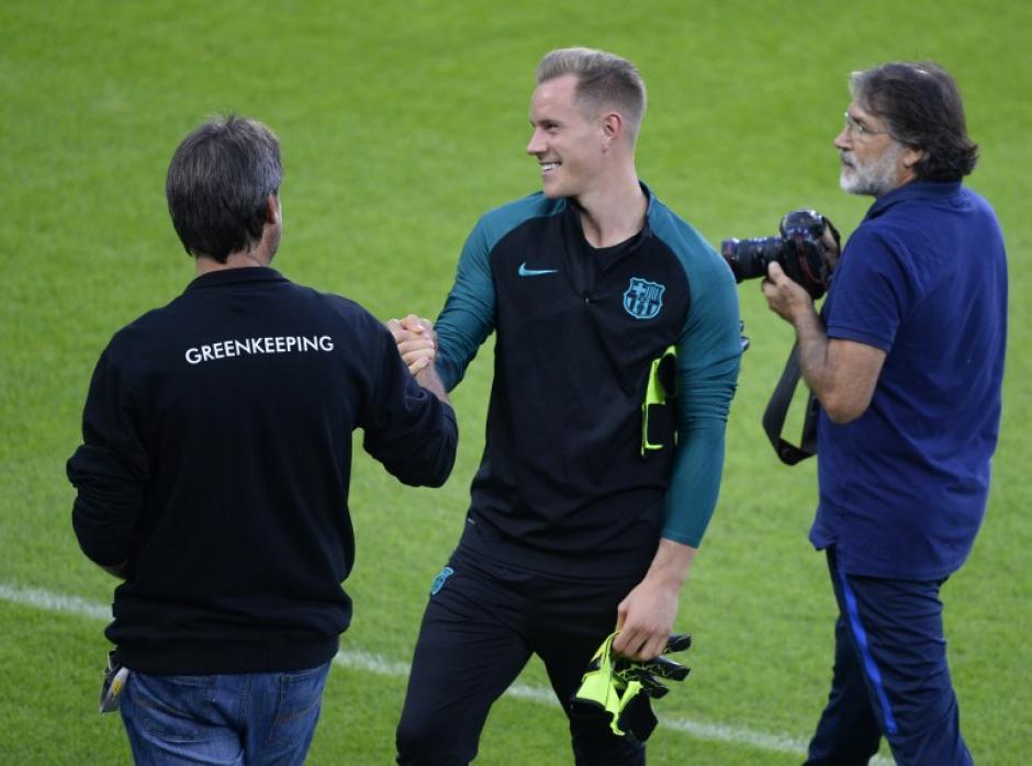 Marc Andre Ter Stegen vuelve a la casa de sus amores. (Foto: AFP)