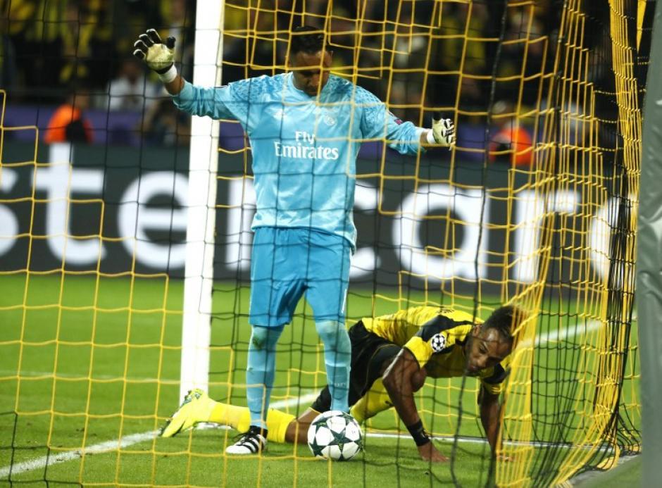 Navas explicó que le taparon la vista en el gol. (Foto: AFP)